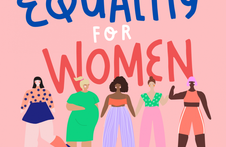 Colorful Equality International Women's Day